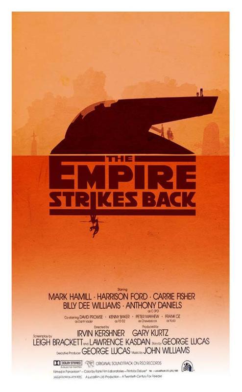 Star Wars Trilogy Alternative Poster Set