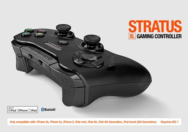 SteelSeries Stratus XL iOS Game Controller Announced
