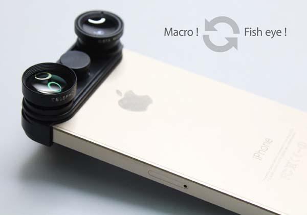 The 3-In-1 Phone Lens for iPhone 5/5s