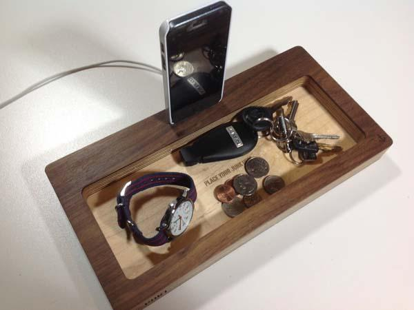 The Handmade Desk Organizer with Docking Station