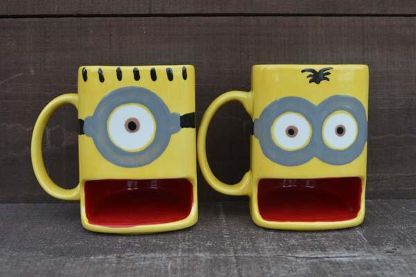 The Handmade Despicable Me Minion Coffee Mug