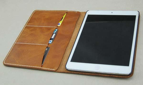 The Handmade Leather Wallet iPad Mini Case