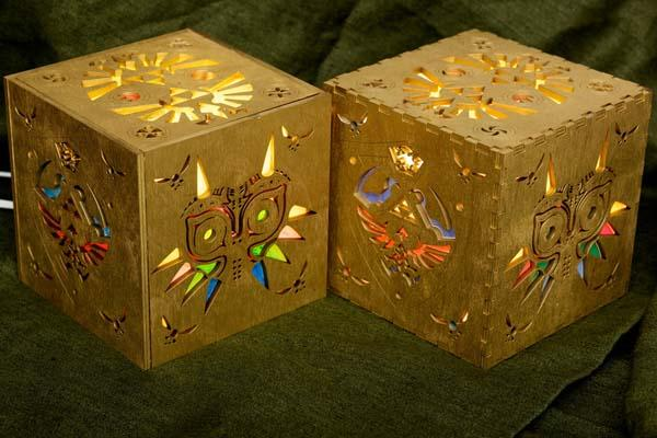 The Handmade Legend of Zelda Inspired Lamp