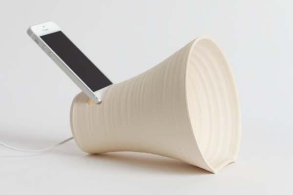 The Handmade Stoneware iPhone Dock