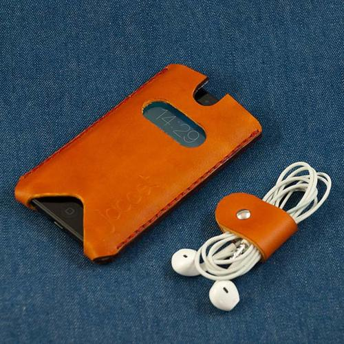 The Mask Handmade Leather iPhone 5s Case