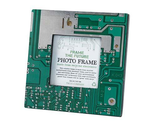 The Recycled Motherboard Picture Frame