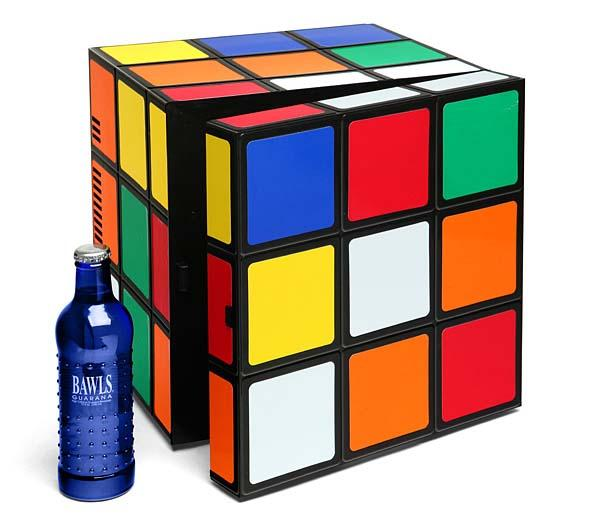 The Rubik's Cube Mini Fridge