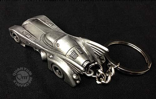 The Steel-Alloy Batmobile Keychain Replica