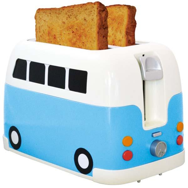 Mini Toaster For Camper ~ The vw camper van inspired toaster gadgetsin