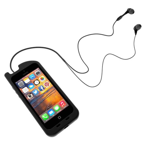 TurtleCell 101 iPhone 5s Case with Retractable Headphones