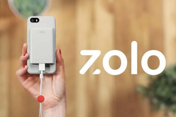 Zolo Tough iPhone 5s Case with Magnetic Backup Battery and Cable Organizer