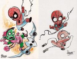 The Pretty Cute Baby Superhero Art Prints