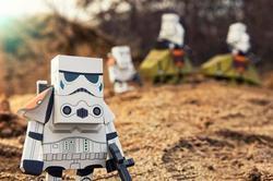 Momot Star Wars Paper Crafts