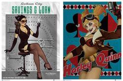 QMx DC Bombshells Posters