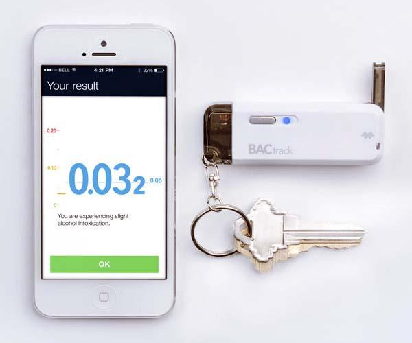 BACtrack Vio Smart Breathalyzer