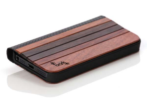 Bark Accessories Wood Book iPhone 5s Case