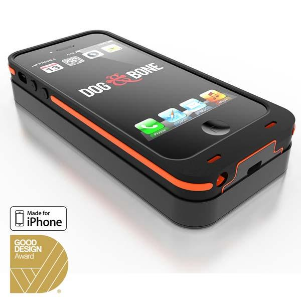 Dog & Bone Backbone iPhone 5s Case with Wireless Charger and Backup Battery