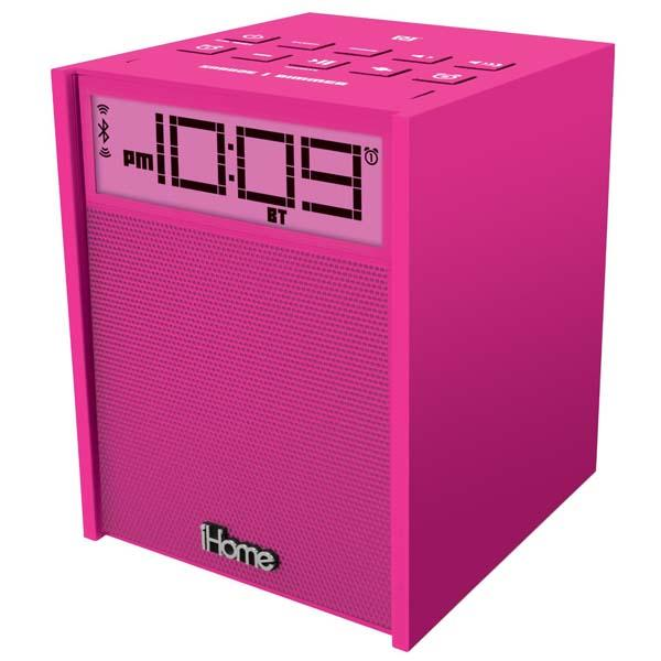 iHome iBN180BC Bluetooth Speaker with FM Radio, USB Charger and Alarm Clock