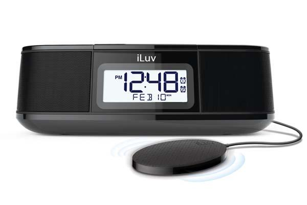 iLuv TimeShaker Micro Bluetooth Speaker with FM Radio and Pillow Shaker