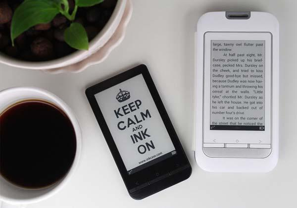 InkCase Plus An E-Ink Screen for Android Phones