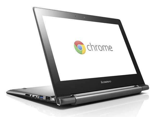 Lenovo IdeaPad N20p Chromebook with Touchscreen