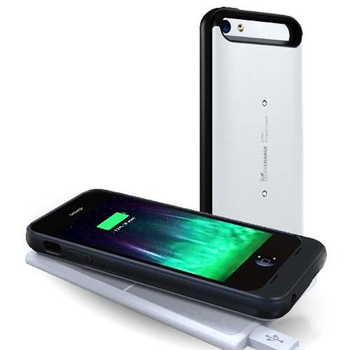 LifeCHARGE InAir iPhone 5s Battery Case and Wireless Charger