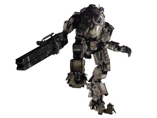 Play Arts Kai Titanfall Atlas Action Figure with Pilot