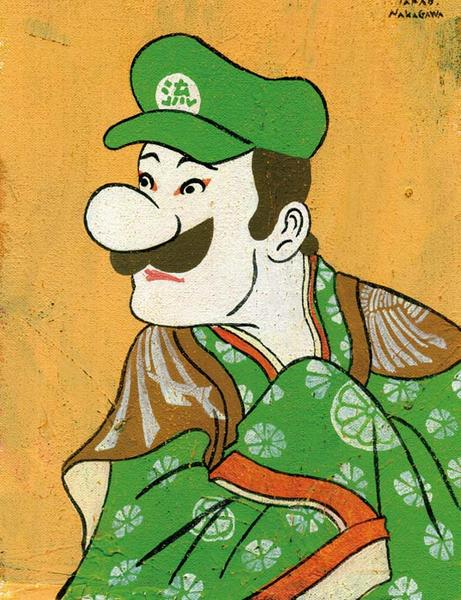All Pro Trailers >> Pop Culture Characters in Edo Ukiyoe | Gadgetsin