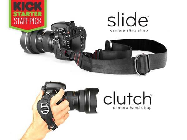 Slide and Clutch Camera Straps