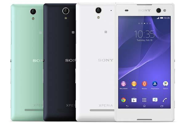 Sony Xperia C3 Android Phone Focuses on Selfie