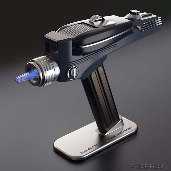 Star Trek Orginal Phaser Universal Remote Control
