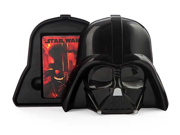 Star Wars Darth Vader Playing Card with Helmet Case