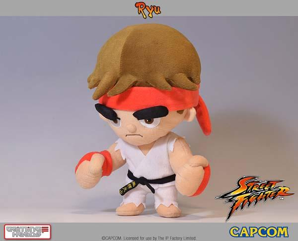 Street Fighter Ryu and Ken Plush Toys