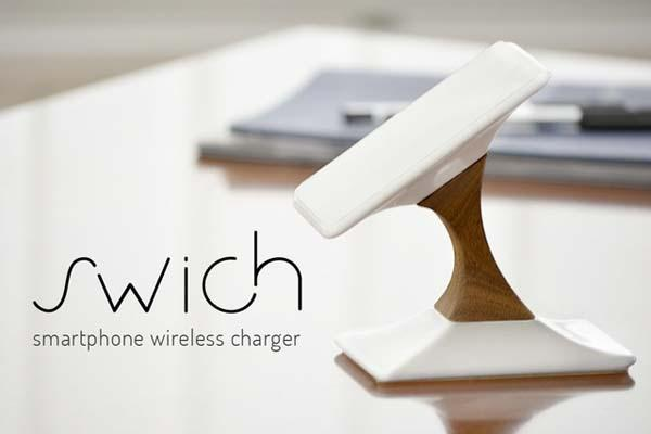 Switch Qi-Enabled Wireless Charger for Smartphones