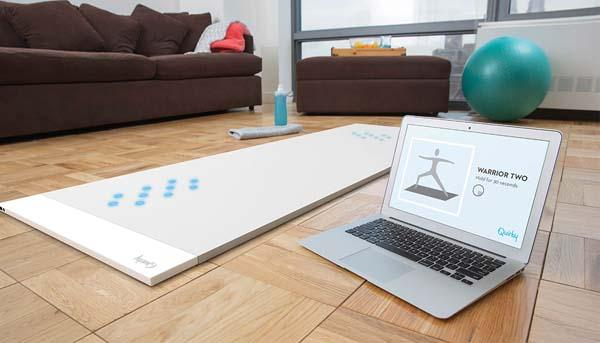 The Beacon Interactive Smart Yoga Mat