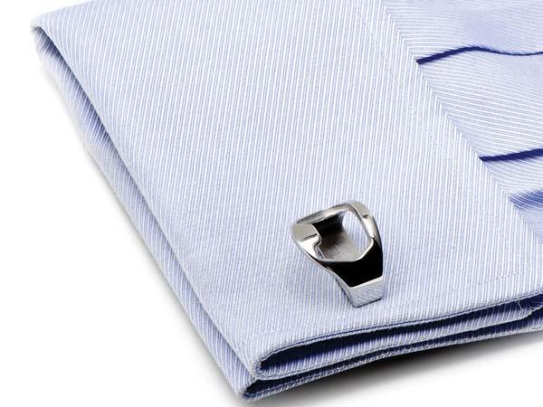 The French Cufflinks with Bottle Openers