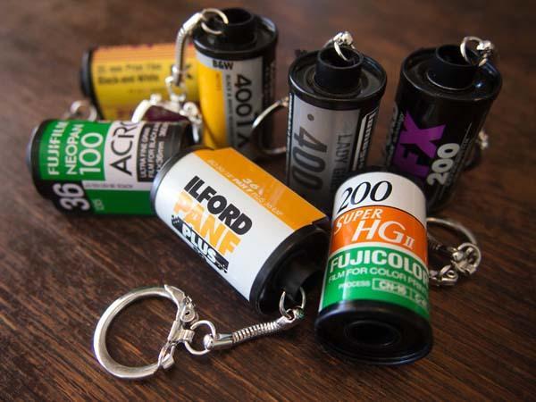 The Handmade Film Roll Keychain