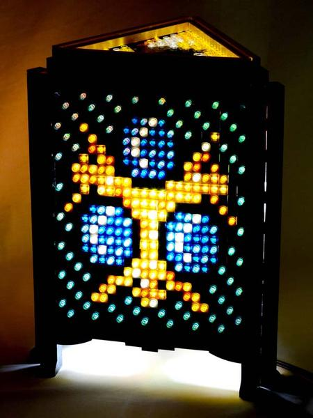 The Legend of Zelda Inspired LEGO Lamp