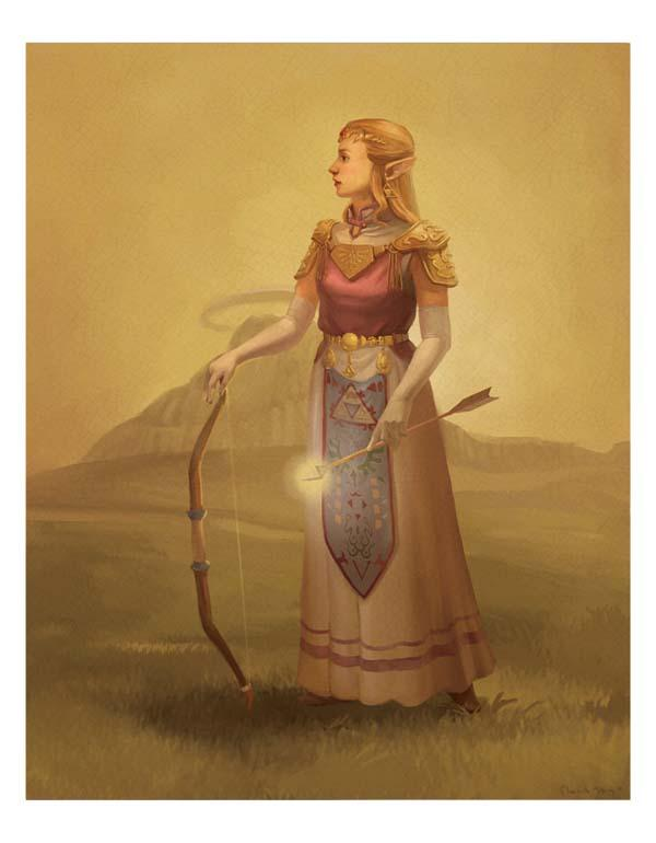 The Oil Painting Styled Legend of Zelda Poster Set