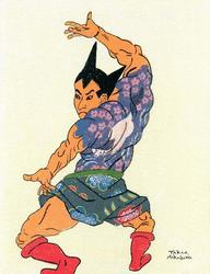 Pop Culture Characters in Edo Ukiyoe