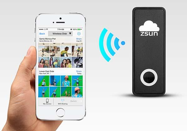ZSUN Portable Wireless USB Flash Drive
