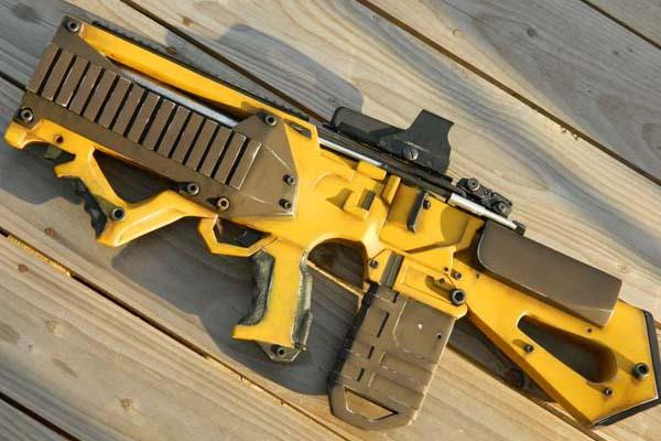 Awesome Borderlands Concept Assault Rifle Prop Replica