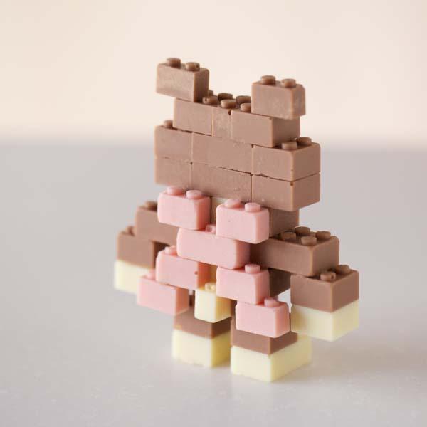 Edible Chocolate LEGO Bricks