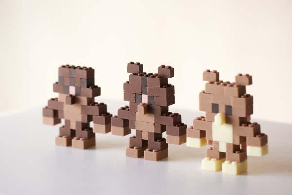 Edible Chocolate LEGO Bricks