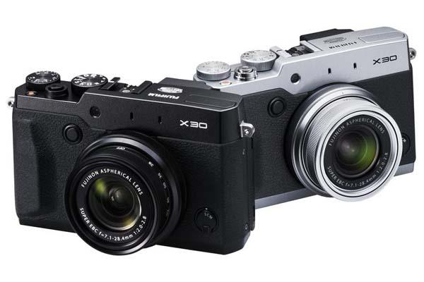 Fujifilm X30 Premium Compact Camera Announced