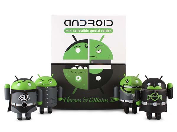Heroes & Villains II Android Mini Collectible Vinyl Figures