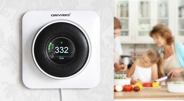 kepler smart home gas detector gadgetsin. Black Bedroom Furniture Sets. Home Design Ideas