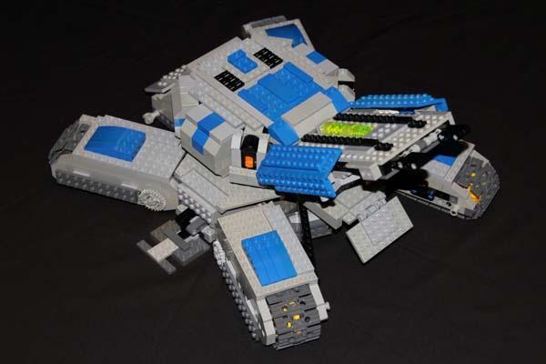 LEGO Starcraft 2 Remote Control Siege Tank