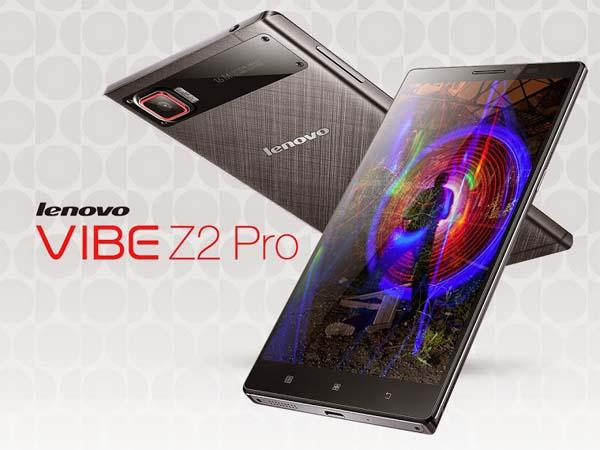 Lenovo Vibe Z2 Pro Android Phone Announced