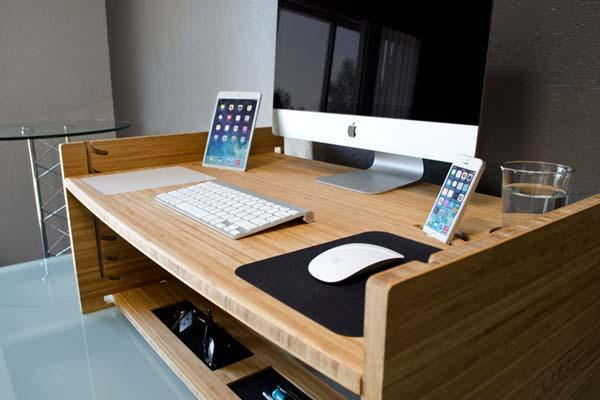 LIFT Upgrades Your Desk to Standing Desk